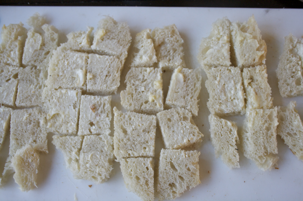homemade bread rough bottom revealing