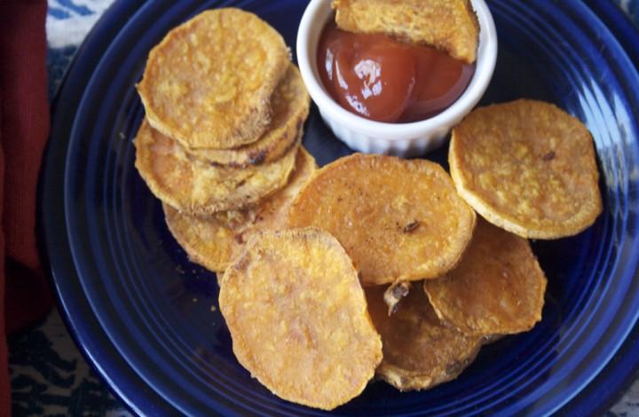 Crispy Oven-Fried Yam Recipe