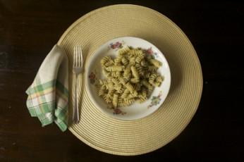 Rotini with Walnut Pesto and Cream