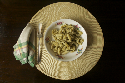 Post image for Rotini with Walnut Pesto and Cream