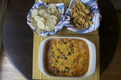 Third Ring of Hell Seven Layer Bean Dip