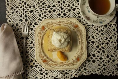 Old-Fashioned Peach Shortcake Recipe