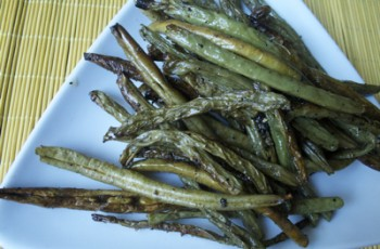 green-beans-plated
