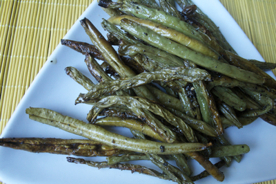 Post image for Easy Oven Roasted Green Beans Recipe