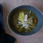 Recipe for Mulligatawny Soup with Coconut Rice Pilau