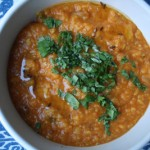 Red and Yellow Dal with Cumin Potatoes
