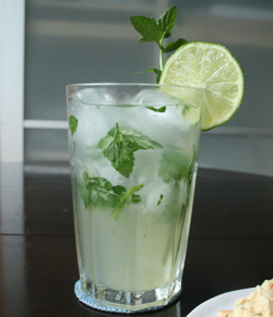 Classic Mojito with Mint Simple Syrup Recipe