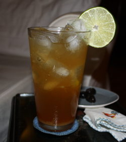 Home-Brewed Dark and Stormy Cocktail Recipe