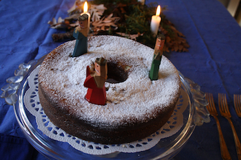 Post image for Twelth Night Almond Cake Recipe