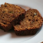 Moist Zucchini Tea Bread Recipe