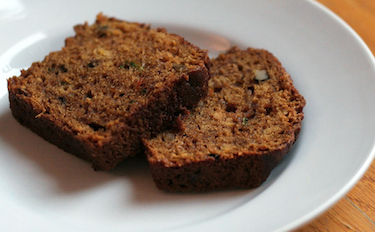 Moist Zucchini Tea Bread Recipe