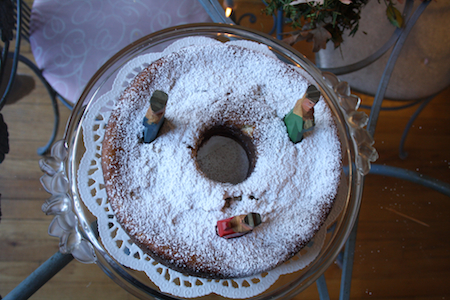 Twelfth Night Almond Cake Recipe