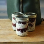 Mason-Jar Meal: Overnight Oats Cherry-Berry Parfait Recipe